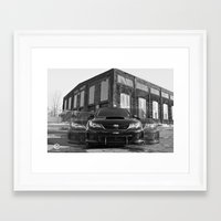 subaru Framed Art Prints featuring Seeing Subaru by Valerie Agrusa Photography