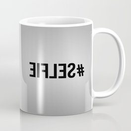 The #Selfie Art Coffee Mug