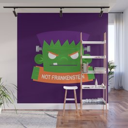 Frankenstein's Monster is NOT Frakenstein Halloween Wall Mural