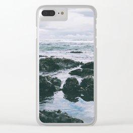Oregon Coast XI Clear iPhone Case