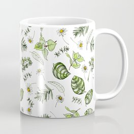 Scattered Garden Herbs Coffee Mug
