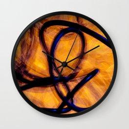 Filament Wall Clock