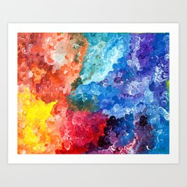 Curvaceous Purity Art Print