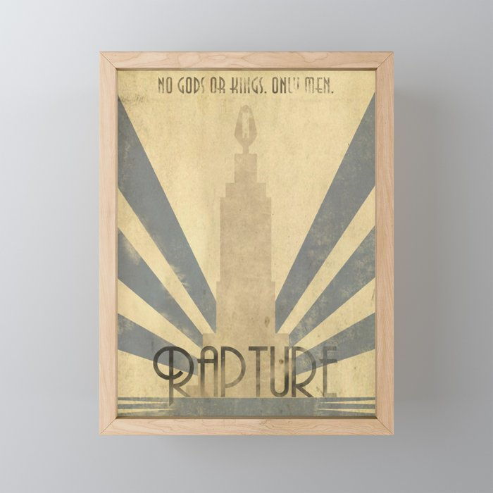 Bioshock Poster - Welcome to Rapture Framed Mini Art Print