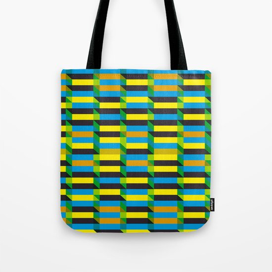 Cinetism and visual effect Tote Bag