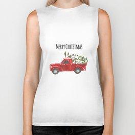 Merry Christmas Biker Tank