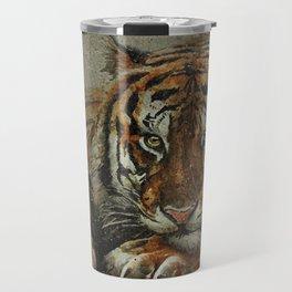 Tiger background Travel Mug