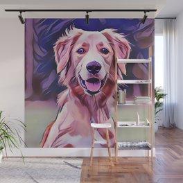 Golden Retriever Puppy Wall Mural