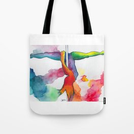 Tiny Dancers Collection: Patti  Tote Bag