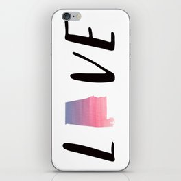 Alabama Love - Sunset Watercolor State iPhone Skin