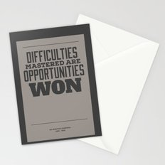 Difficulties Stationery Cards