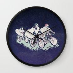 Ghost Race Wall Clock