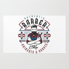 Barber Shop Rug