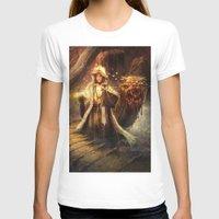 wizard T-shirts featuring Wizard queen  by Alexandrescu Paul