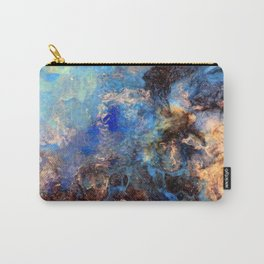 Pacific Lagoon - Original Abstract Art by Vinn Wong Carry-All Pouch