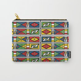 African geometric print Carry-All Pouch