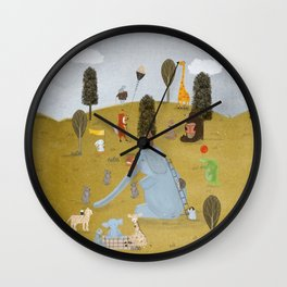 little summer days Wall Clock