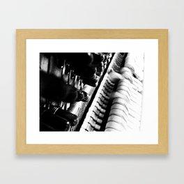 Musical Innards Framed Art Print