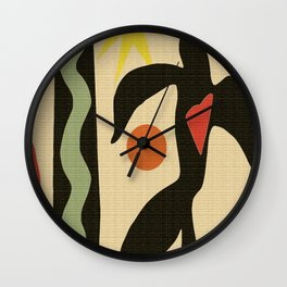 Inspired to Matisse (vintage) Wall Clock