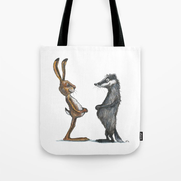 Hare & Badger Tote Bag