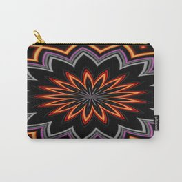 Atomic Flower Carry-All Pouch