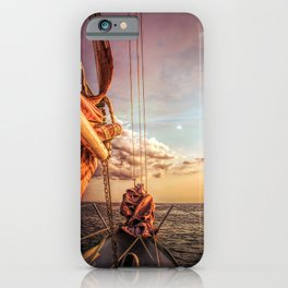 Sail on Spirit of Buffalo iPhone Case