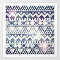 Tribal Gathering Art Print
