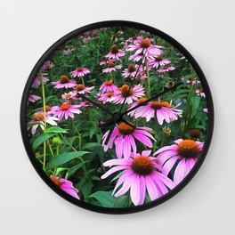 Coneflower Wall Clock
