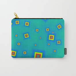 Pattern of disorganized multicolored paintings Carry-All Pouch