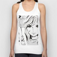sketch Tank Tops featuring SKETCH by Chandelina
