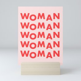 WOMAN Mini Art Print