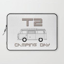 T2: Camping Day Laptop Sleeve