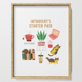 Introvert's Starter Pack | 200705 Serving Tray