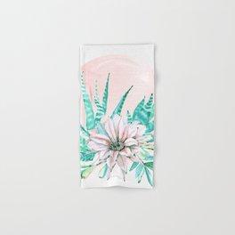 Desert Cactus Succulent Hand & Bath Towel