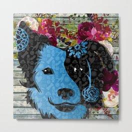 Woof to Wag-Buddy Metal Print