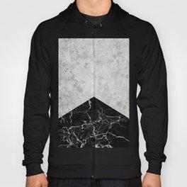 Concrete Arrow Black Granite #844 Hoody