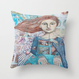 Beseesch Throw Pillow