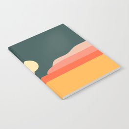 Geometric Landscape 14 Notebook