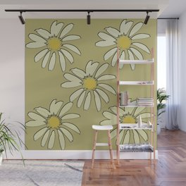 All About Daisies Wall Mural