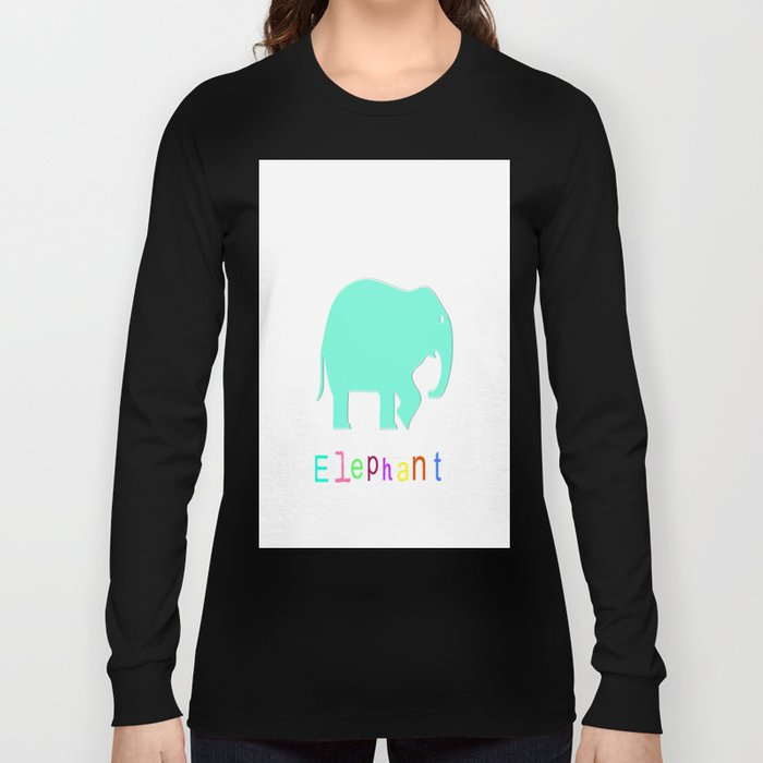 Elephant- Long Sleeve T-shirt