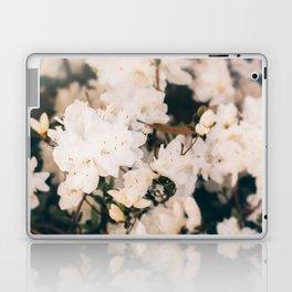 White Mini azaleas #floral Laptop & iPad Skin