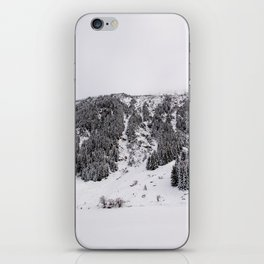 White Winterscapes III iPhone Skin