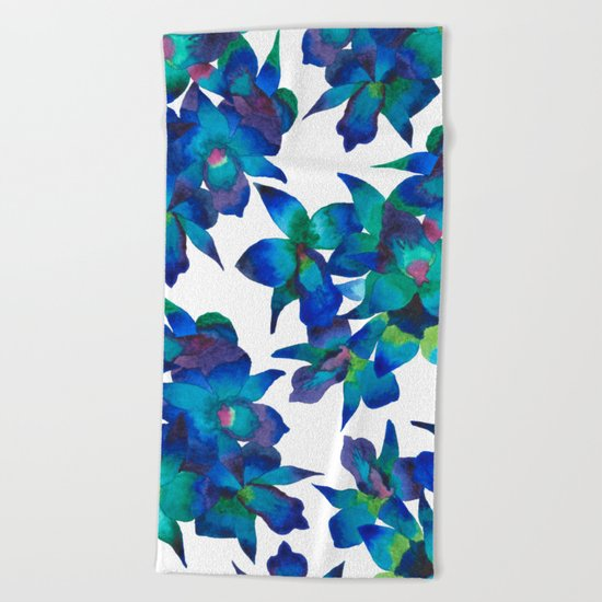 Orchid Fascination Beach Towel