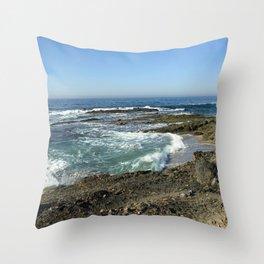 Laguna Shorline Throw Pillow
