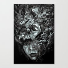 Empress Death Canvas Print