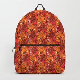 Groovy Flowers Backpack