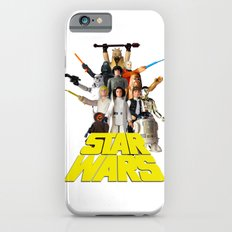 Star War Action Figures Poster - First 12 Slim Case iPhone 6s
