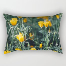 california poppy Rectangular Pillow
