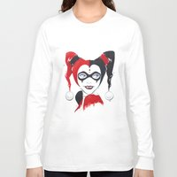 harley quinn Long Sleeve T-shirts featuring Harley Quinn by Berry Luna