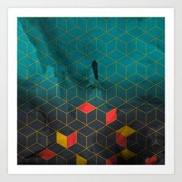 Shuttle Rising Art Print